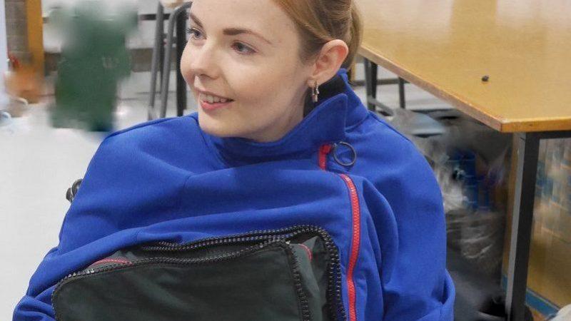 Paralympic jacket